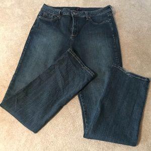 NYDJ Women's Jeans Dark Wash